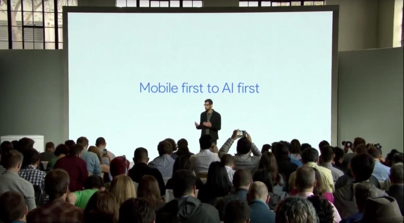 Sundar Pichai stellt das Konzept AI vor: Zitate der Google Gründer über Künstliche Intelligenz